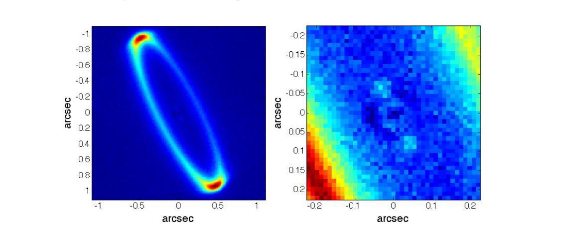 Диск вокруг звезды HR 4796A