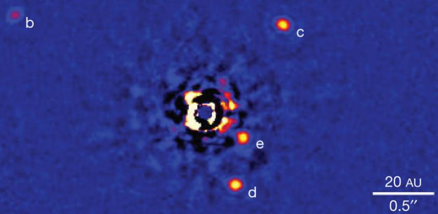 Планеты вокруг HR8799