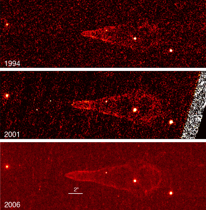Снимки Паломарской обсерватории