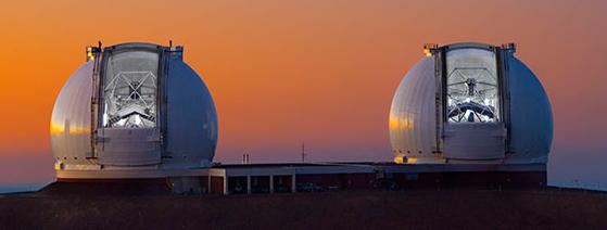 Телескопы КЕК