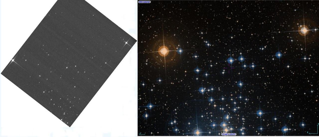 Звездное скопление NGC 2516