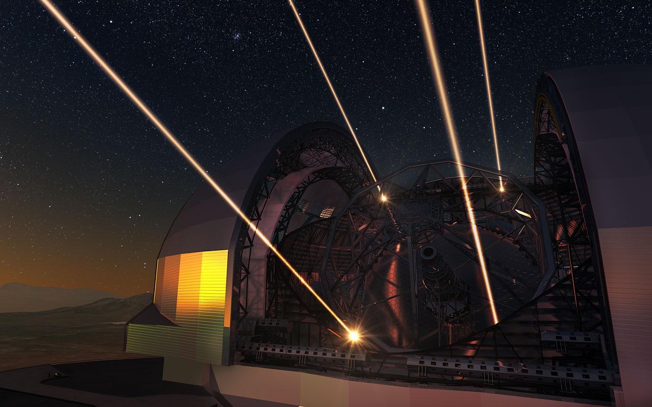 Лазеры в действии