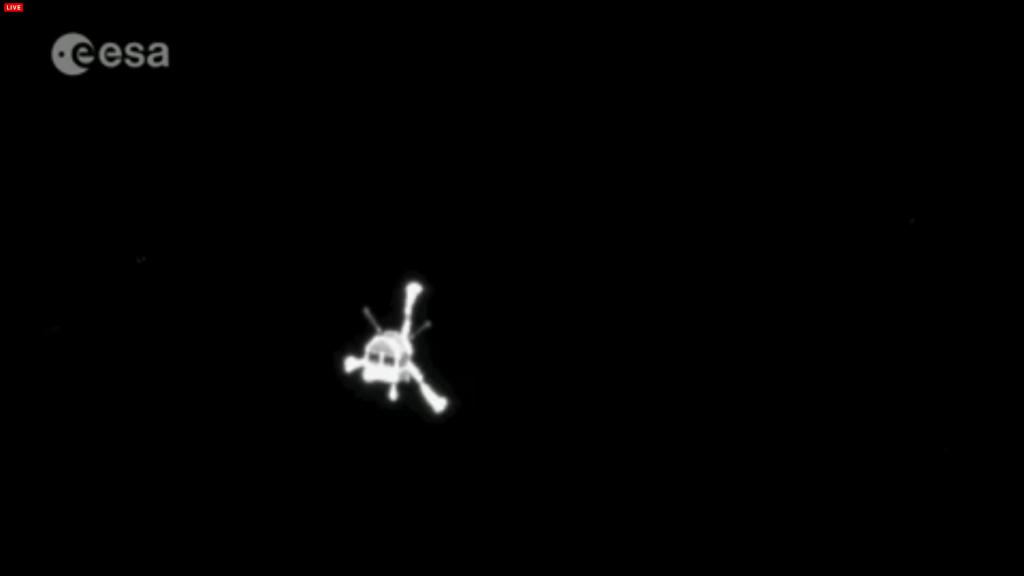 Зонд Philae, снимок Розетты