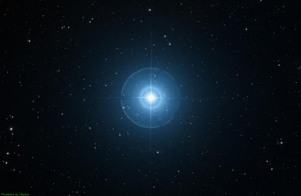 Звезда Альгениб или Гамма Пегаса