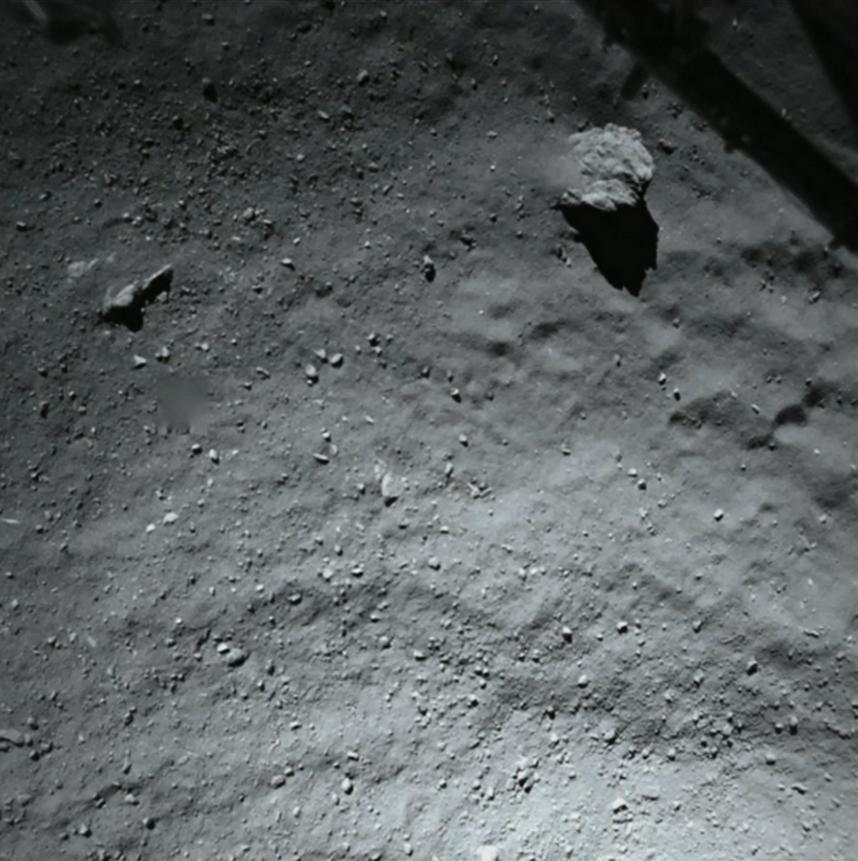 Детальный снимок поверхности