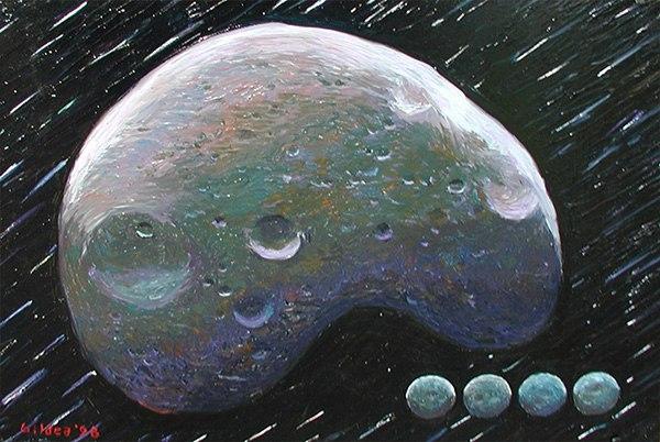 Деймос, рисунок Steve Glidea