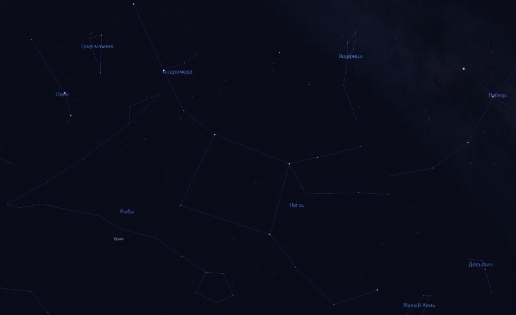 Рыбы, Андромеда и Пегас