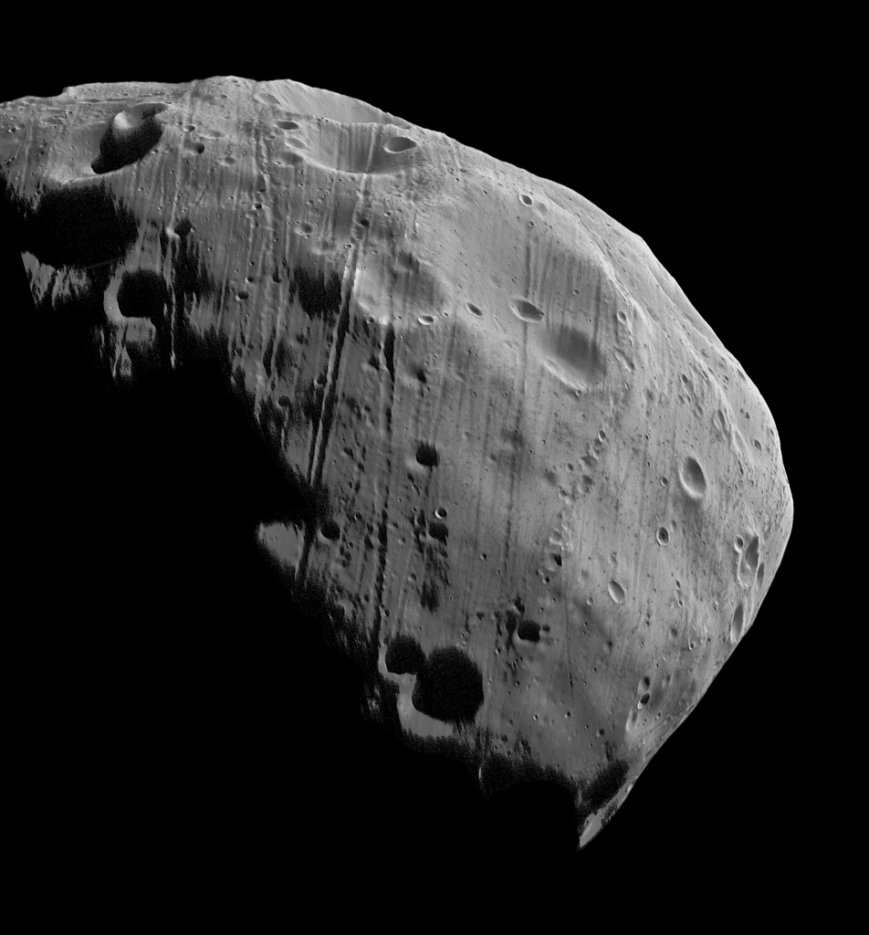 Снимок спутника Марса Фобоса
