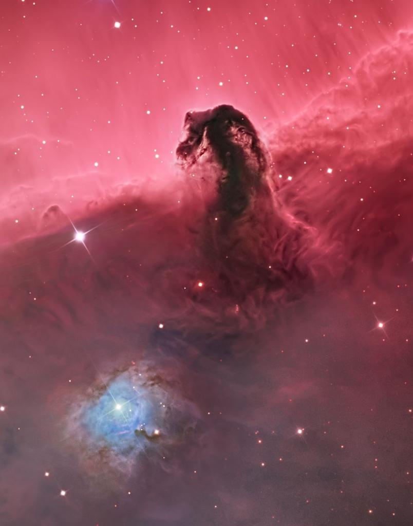 Снимок туманности Конская Голова (IC 434), автор - Bill Snyder