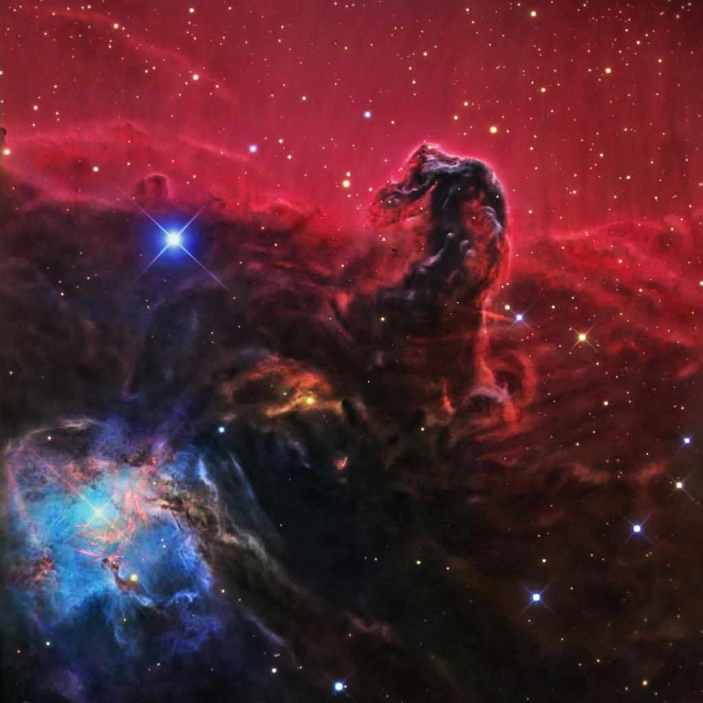 Снимок туманности Конская голова от Jay GaBany
