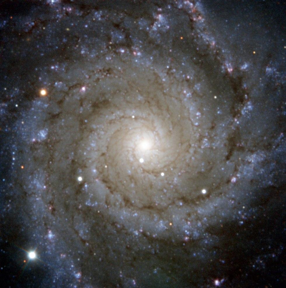 Спиральная галактика M74