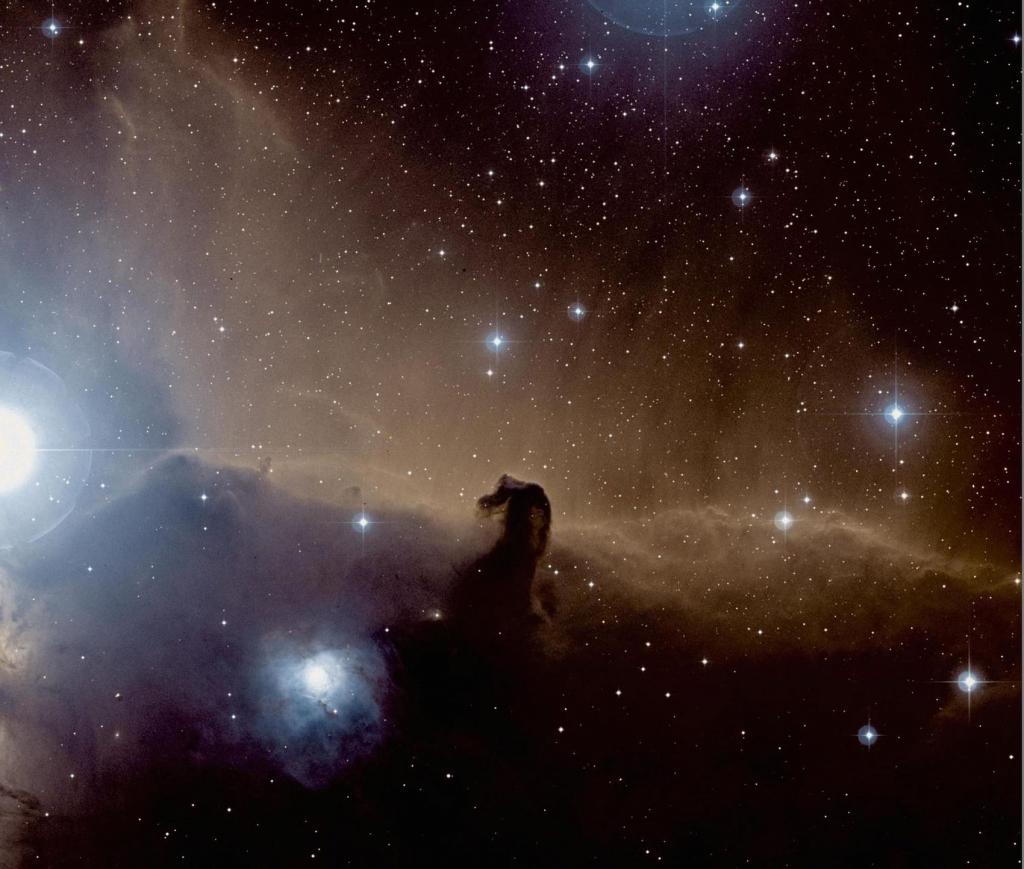 Знаменитая темная туманность - Конская голова