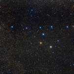 Звездное скопление Ас-Суфи или астеризм Вешалка