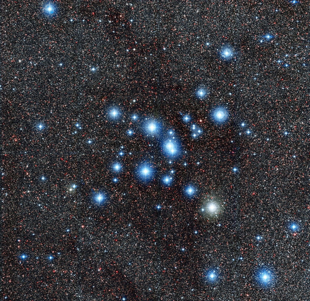 Звездное скопление Мессье 7