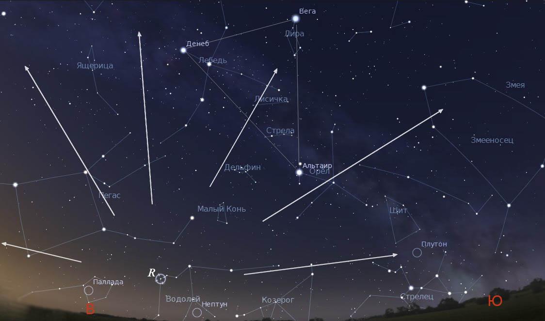Сколько звезд в созвездии водолея