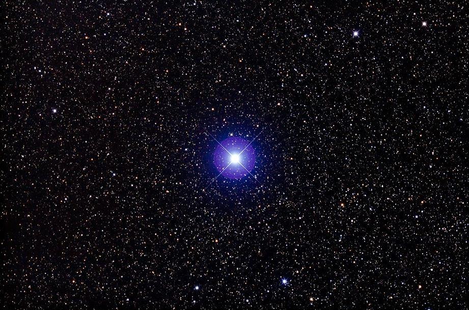 Звезда Нат или бета Тельца