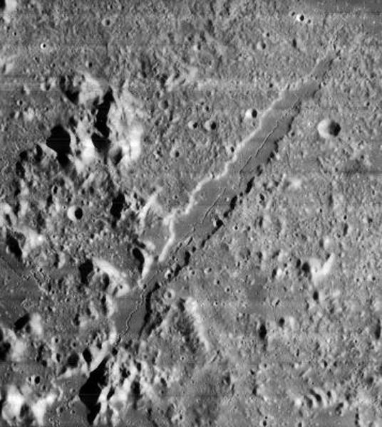 Большая Альпийская долина, вид с орбиты