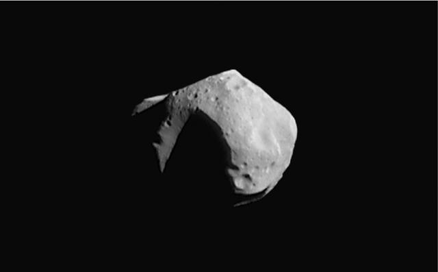 Изображение астероида (253) Матильда
