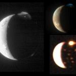 Извержение вулканического спутника Юпитера Ио, снятое тремя разными инструментами космического аппарата Новые Горизонты
