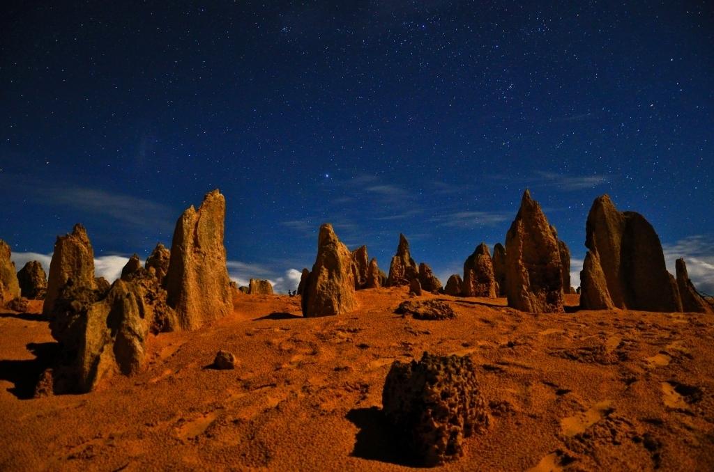 Канопус над пустыней вершин