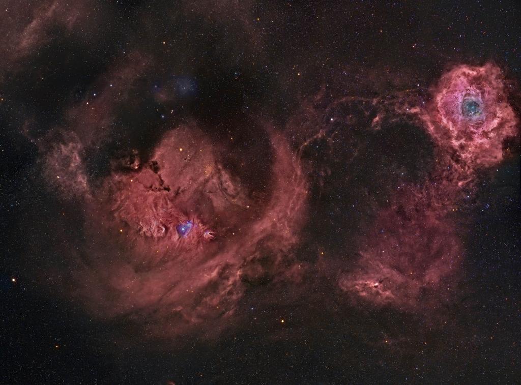 Красоты созвездия Единорога