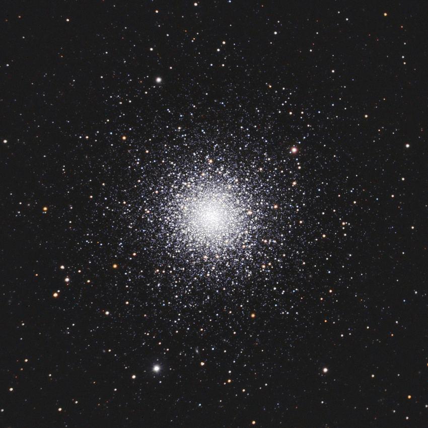 NGC 5272 любительский снимок