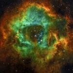 Снимок получен 9 сентября 2014 года на телескоп Epsilon 180 ED, с использованием фильтров H-альфа, кислорода и cеры. Экспозиция 5 часов!