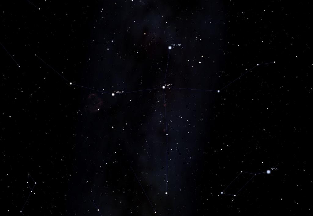 Созвездие Лебедь