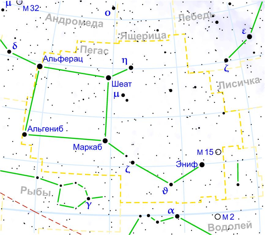 Созвездие Пегас