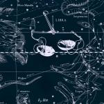 Созвездие Весы, рисунок Яна Гевелия из его атласа созвездий