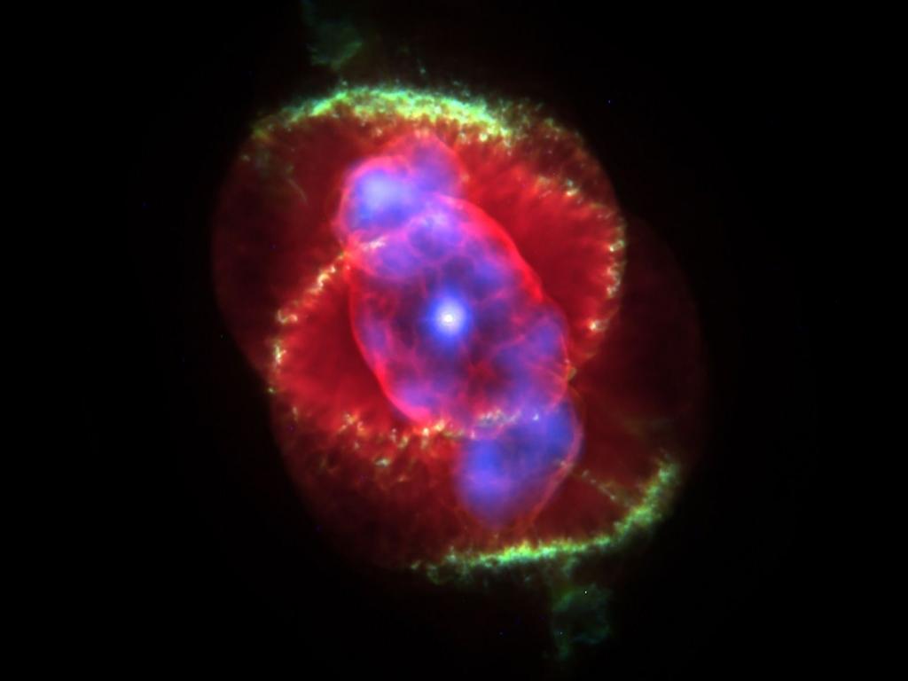 Туманность Кошачий глаз или NGC 6543
