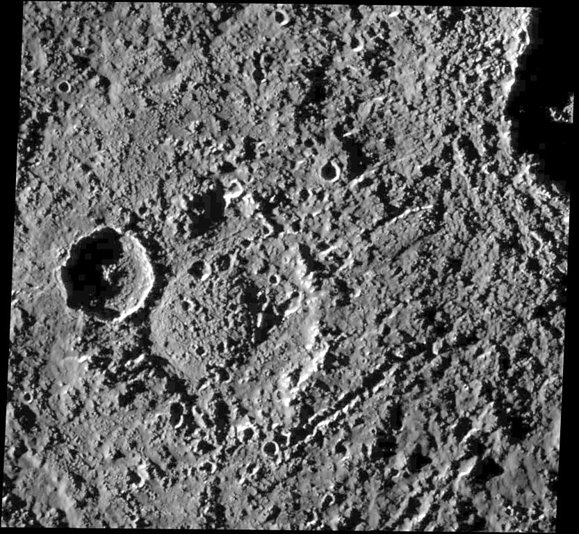 Ударный кратер Хар с центральным куполом