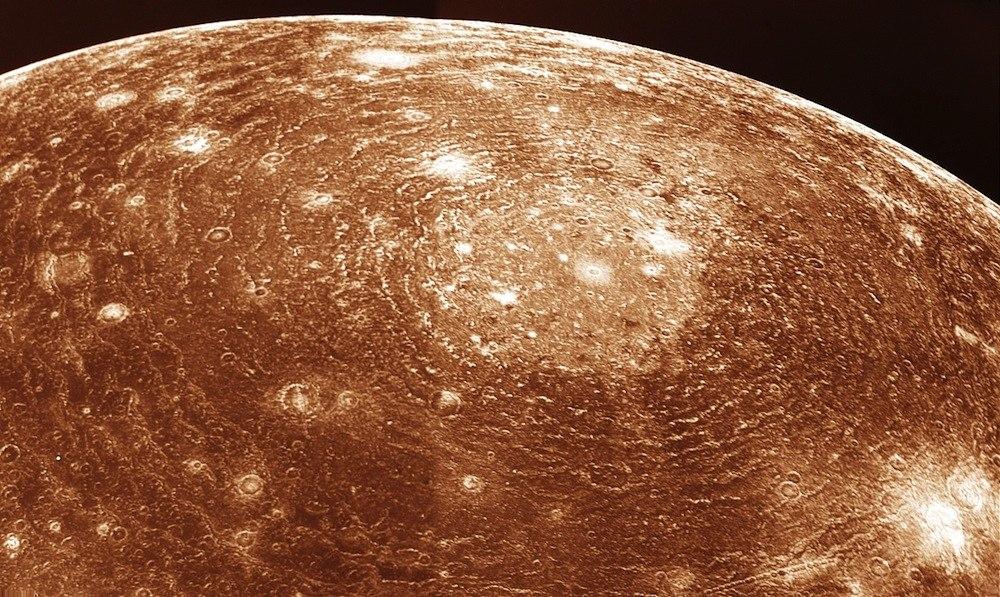 Валгалла - ударный бассейн на спутнике Юпитера Каллисто