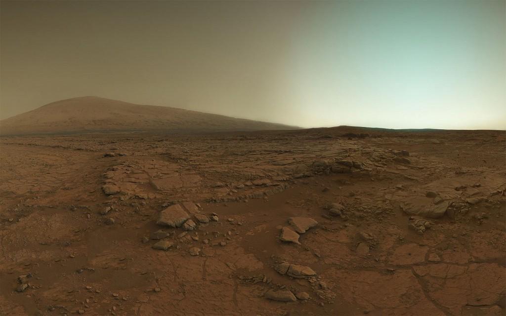 После заката на Марсе