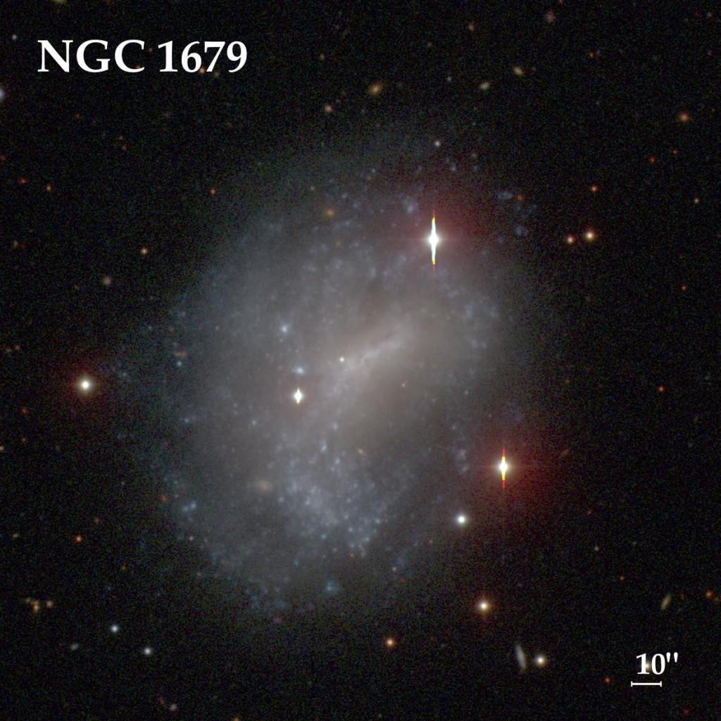 Галактика NGC 1679