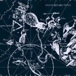 Созвездия южного полюса, рисунок Яна Гевелия из его атласа созвездий