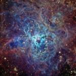 Туманность NGC 2070 в созвездии Золотая Рыба