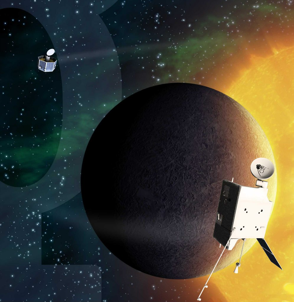 BepiColombo изучает Меркурий
