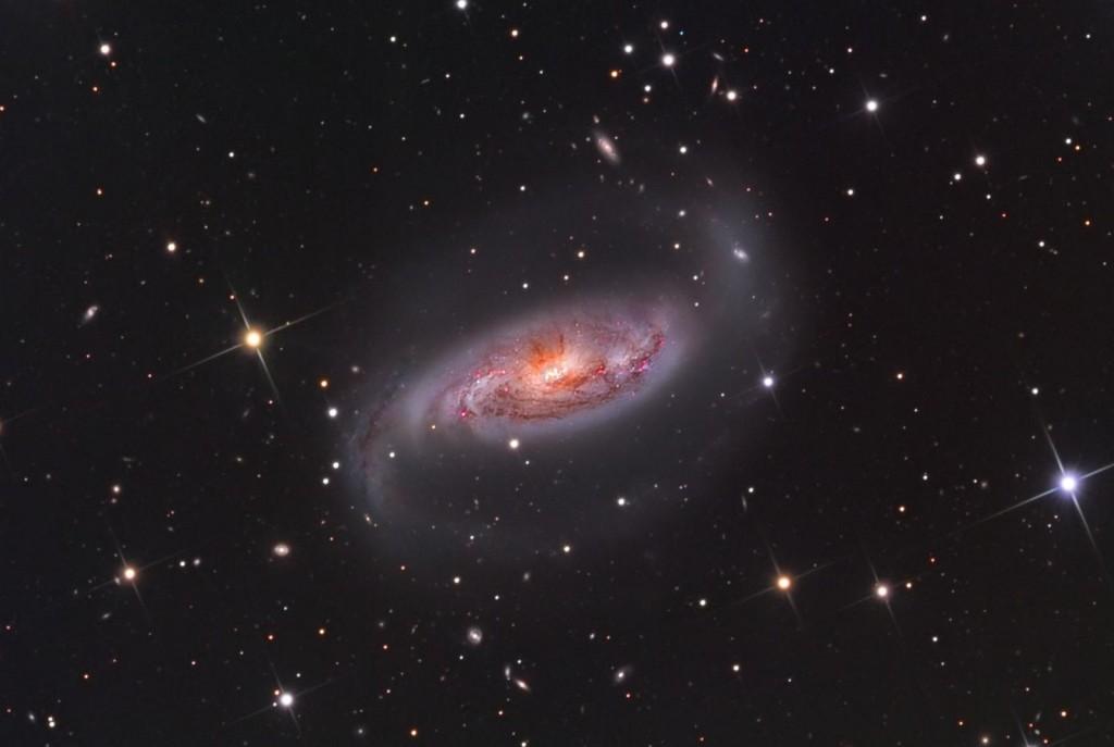 Галактика NGC 1808