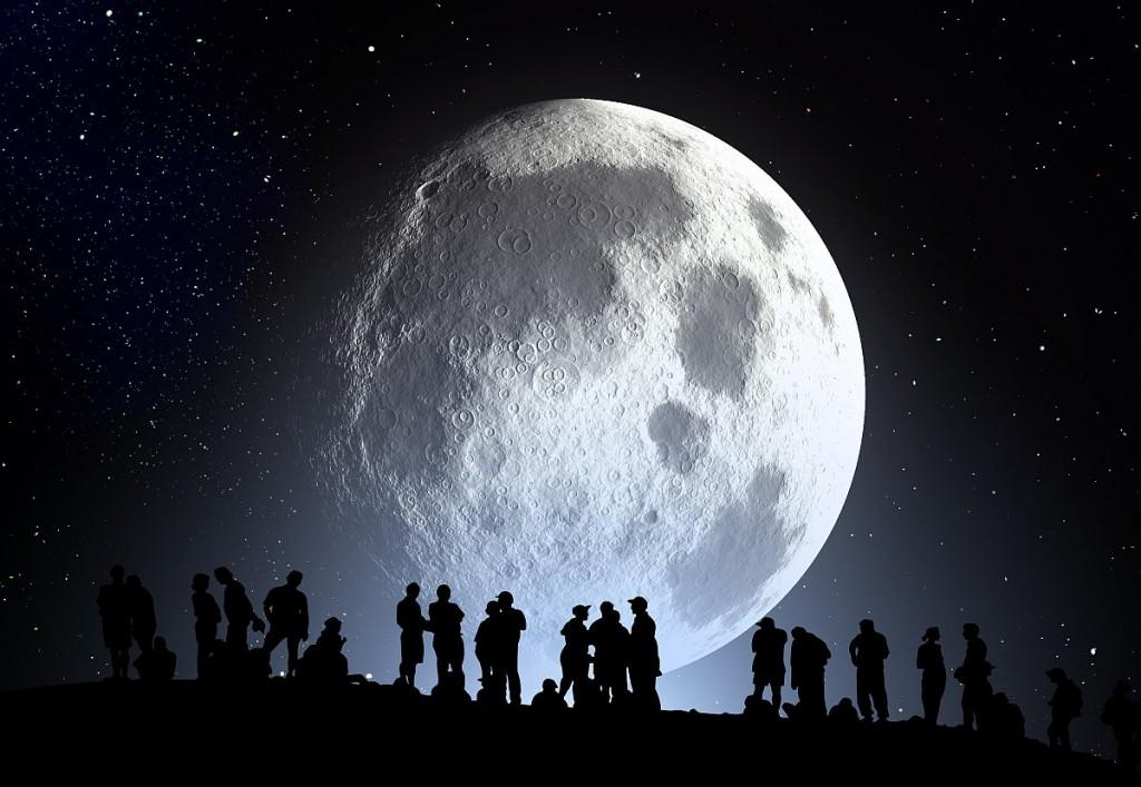 Полное лунное затмение 4