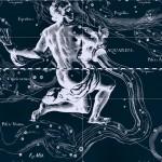 Расположение созвездия Скульптор, рисунок Яна Гевелия