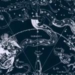 Расположение созвездия Журавль, рисунок Яна Гевелия