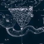Секстант, рисунок Яна Гевелия из его атласа созвездий