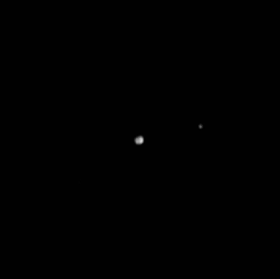 Плутон и Харон с Новых Горизонтов