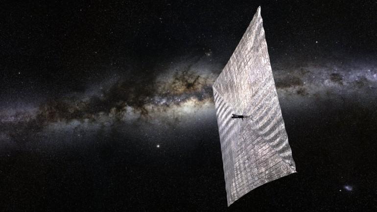 Путешествие по Млечному пути в представлении художника