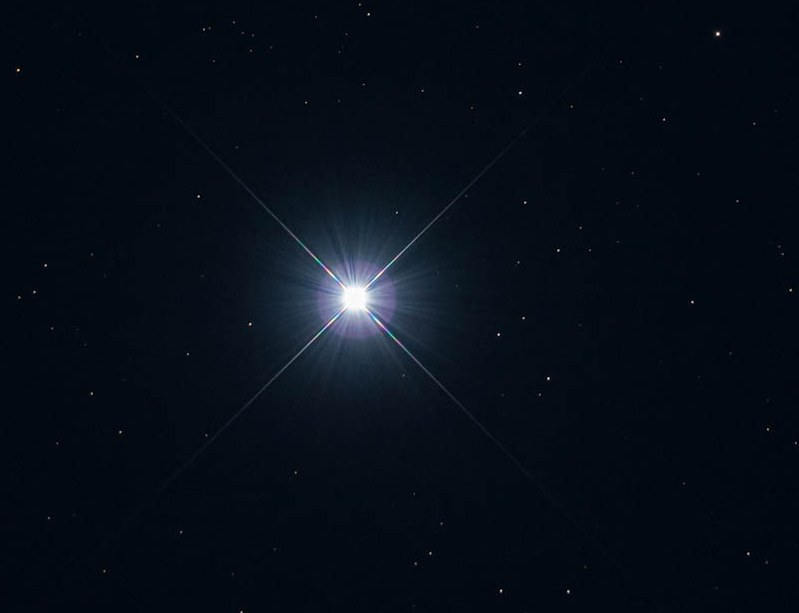 Звёздное небо и космос в картинках Zvezda-Ahernar