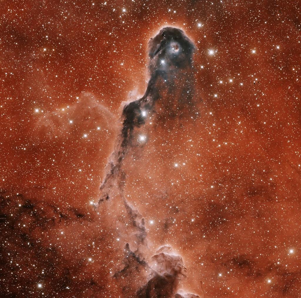 IC 1396 или туманность Слоновий хобот