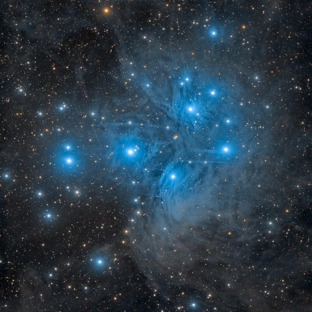 Рассеянное скопление М45 Плеяды от Marco Lorenzi