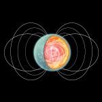 Рисунок магнетара SGR 0418+5729