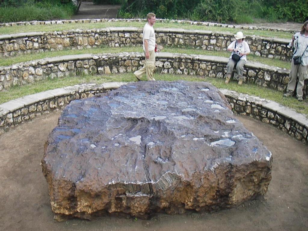 Гоба — крупнейший из найденных метеоритов